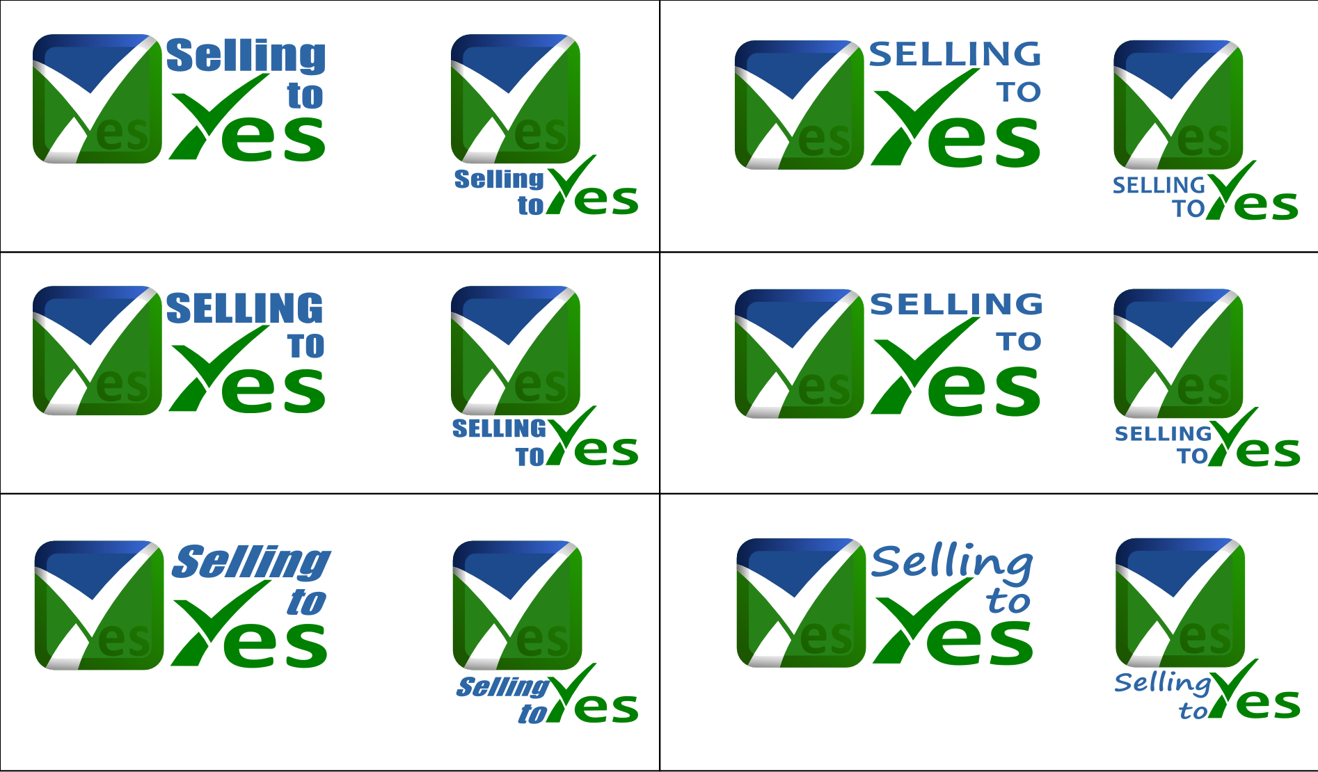Create the next logo for Selling to Yes