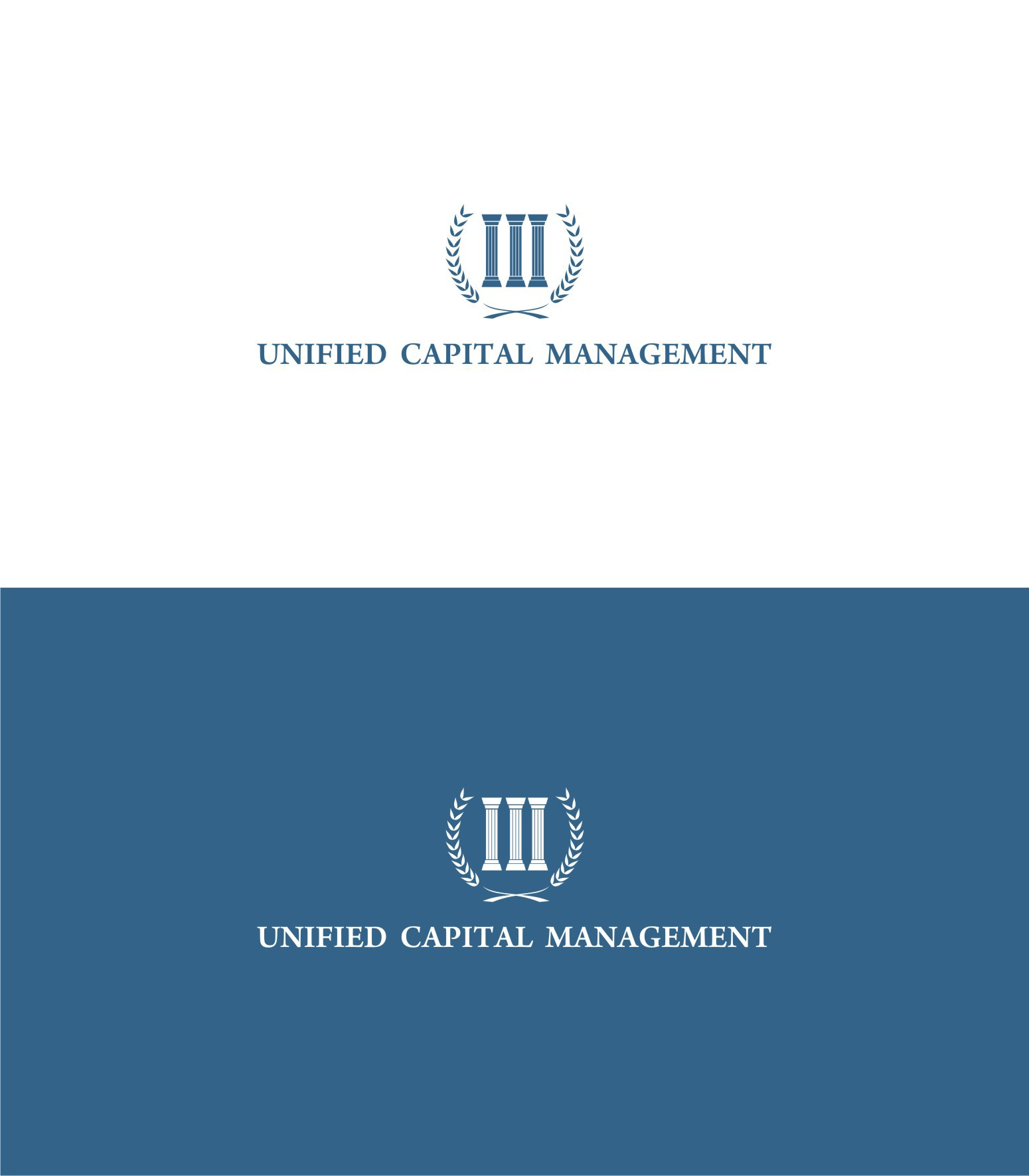 design a classic logo for the next Merrill Lynch wealth management firm, Unified Capital Management