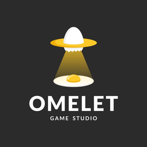Simple, Playful and Fun Logo Concept for Omelet