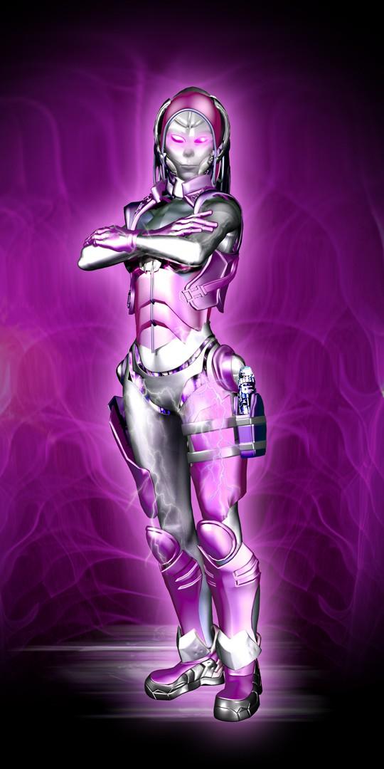 Zyborg Story Universe Concept Art #3:  The Erasing