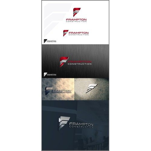 Frampton Construction Logo Design
