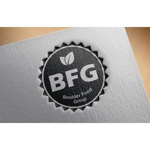 Seeking original logo for BFG, a natural and organic food company.