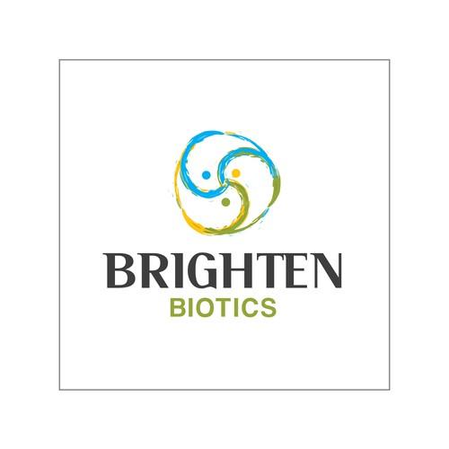 Logo design for Brighten Biotics