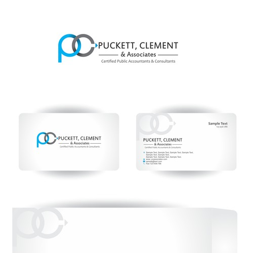 Designers, help me design the brand logo that defines Puckett, Clement & Associates, P.C., CPA's.