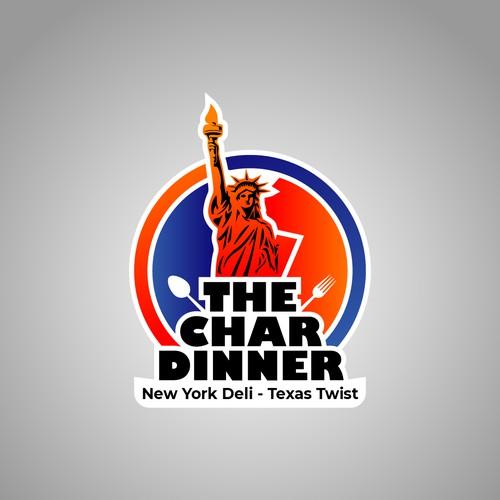The Char Dinner Logo