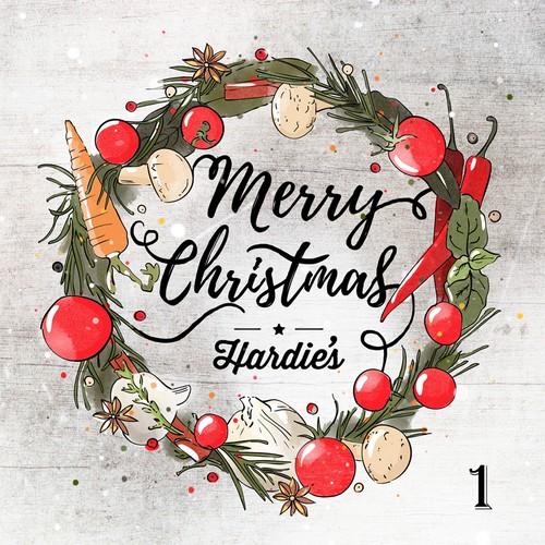 Hardie's Fresh Foods - Christmas Card