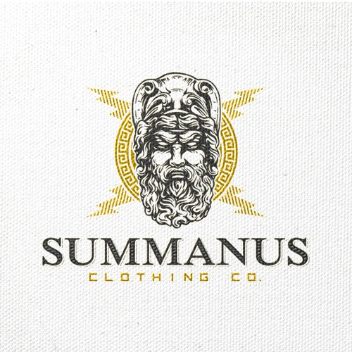 illustrative logo for clothing co.