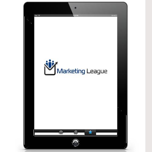 "Create a capturing logo for a Marketing Membership Site called ""Marketing League"""