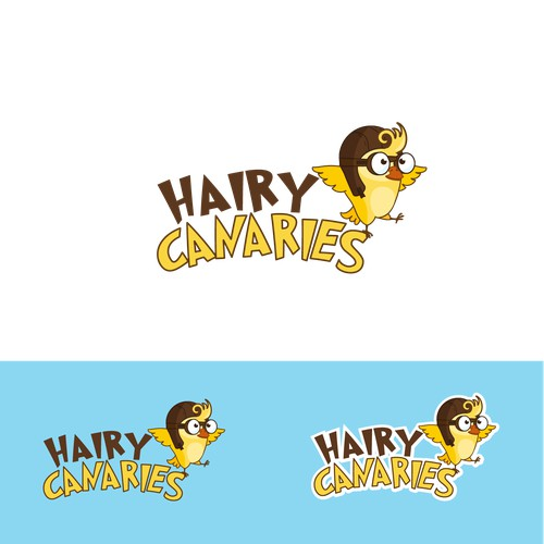 Create the face of a tool that builds childhood resilience; Hairy Canaries