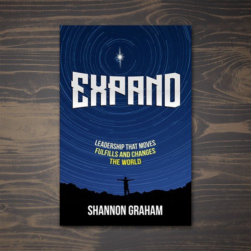 """Expand"" Book Cover Design"