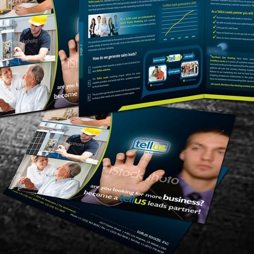 Tellus brochure design