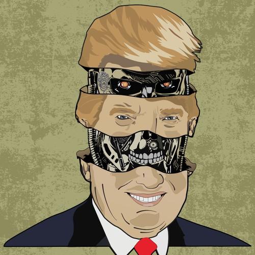 trump is terminator