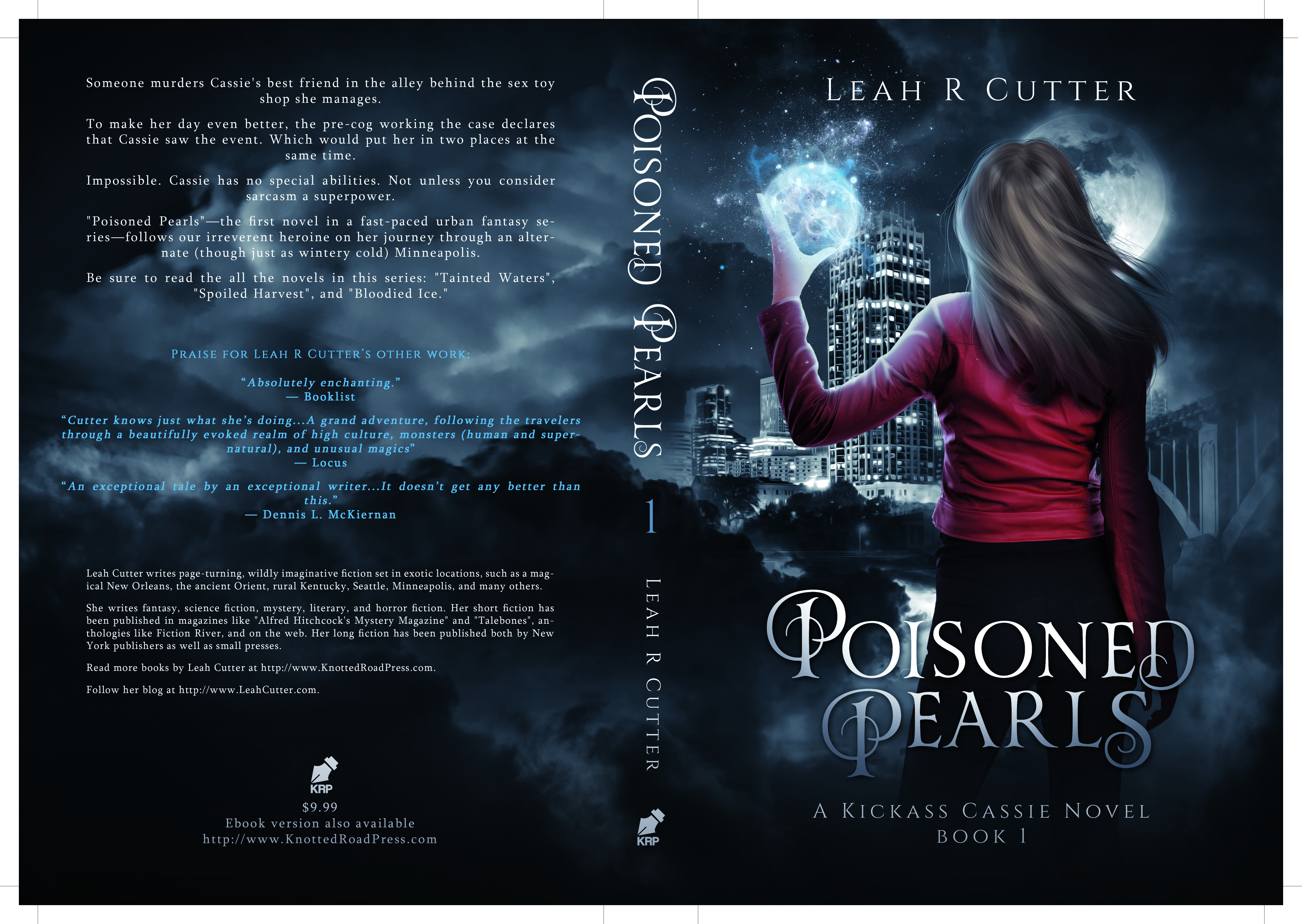 Create the first of a four book urban fantasy series!