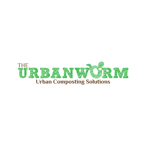Create a logo for an innovative, ecological urban composting company.