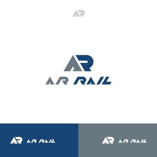 Rail Cunstruction Logo Concept