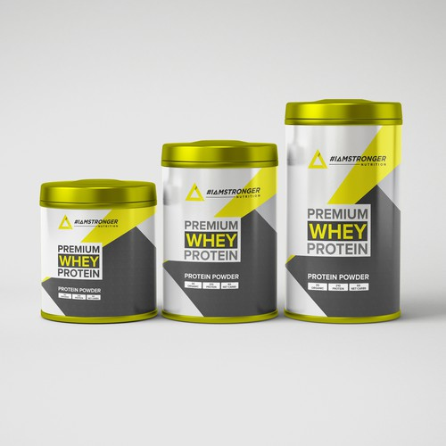 Design a Premium Supplement Brand
