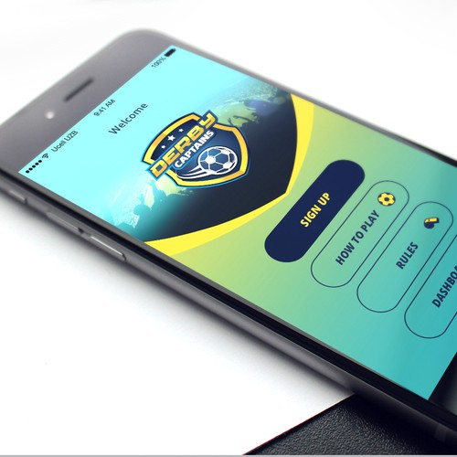 iPhone app for soccer betting game
