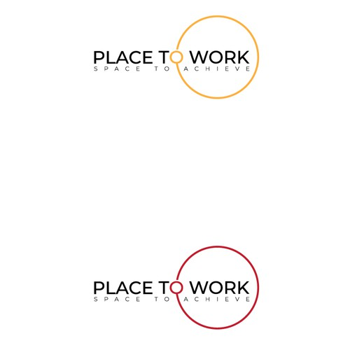 Logo concept for work space share.