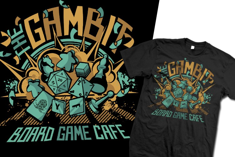 Create The Most Epic Tabletop Gamer Tee Ever