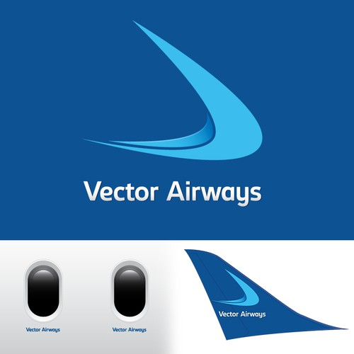 Logo for a new niche airline