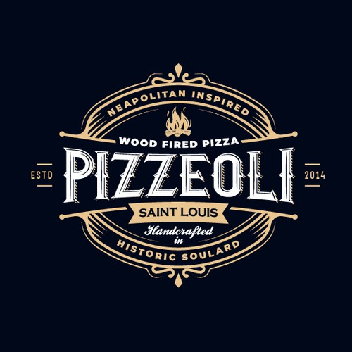 Logo for Pizzeoli pizzeria