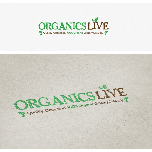 Organics Live needs a new logo