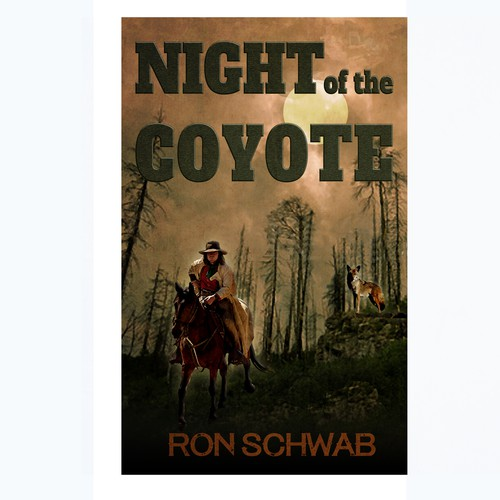 Cover for period western novel