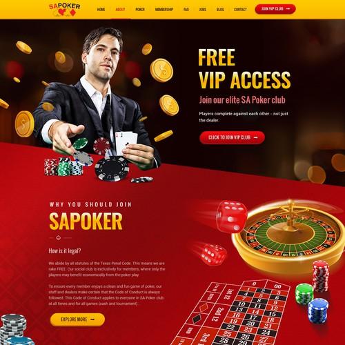 Online Poker Webiste for South Africa