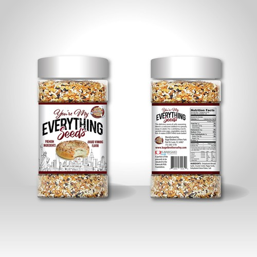 Contest Winner You're My Everything Bagel Seeds
