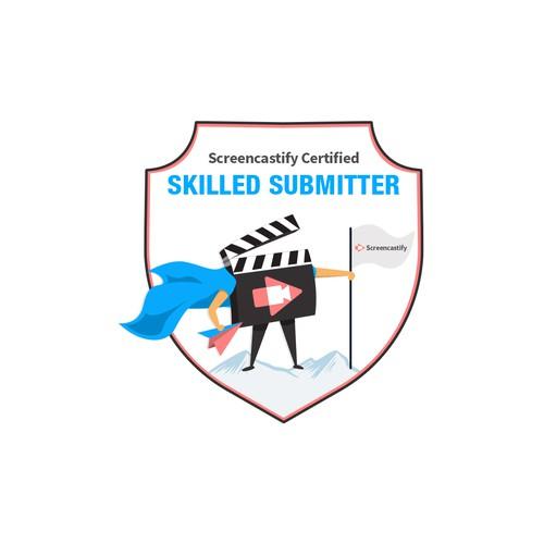 Badge design concept