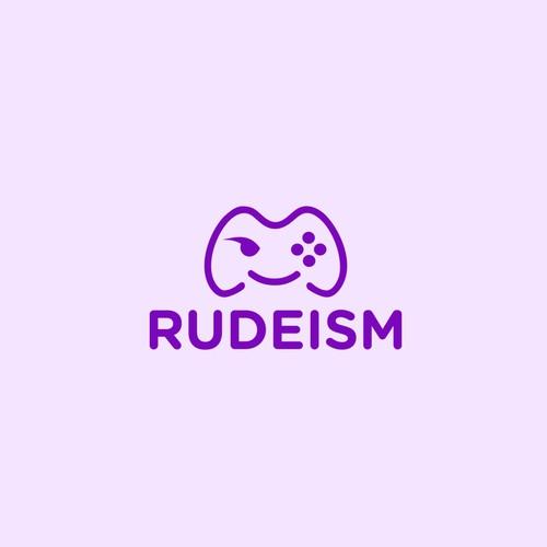 Rudeism logo design