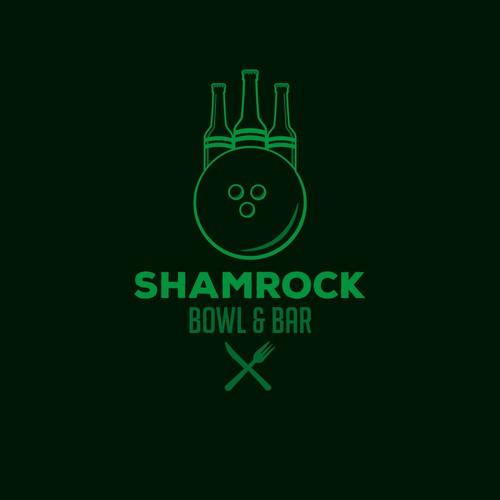 Shamrock bowl and bar