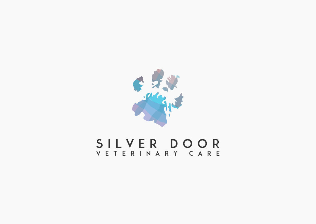 Bring clients through the door with a unique logo for Silver Door Veterinary Care