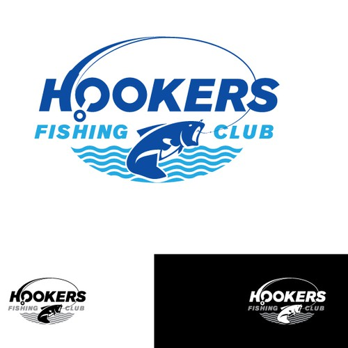Bold logo for Fishing Club