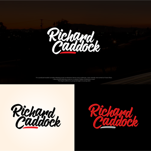Richard Caddock music company logo