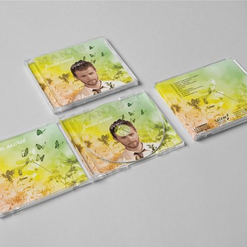 Manas - Jardin Secret - CD album