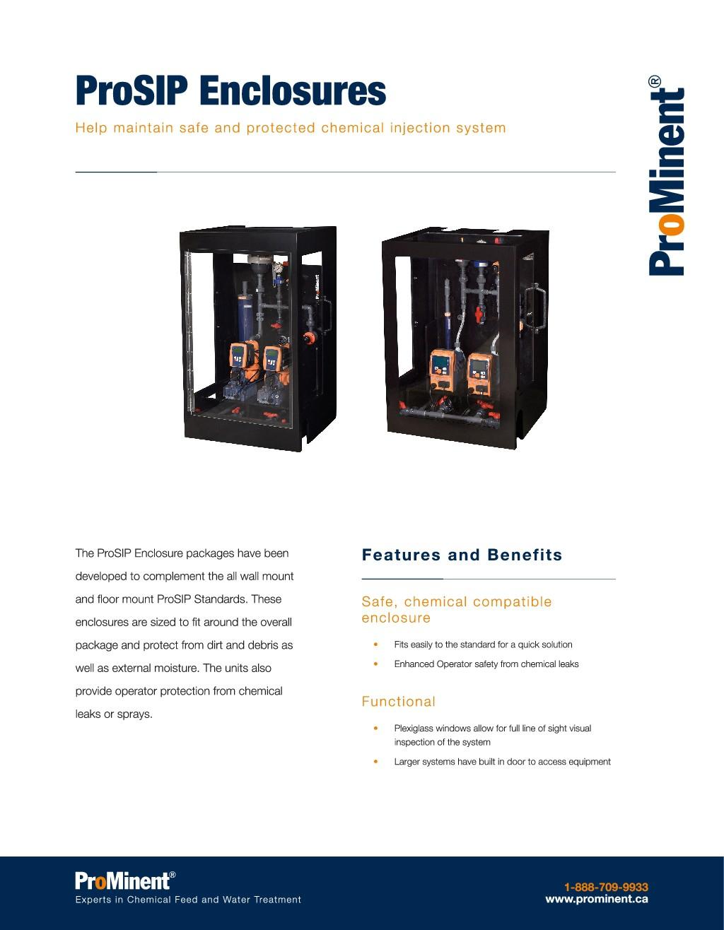 ProSIP Enclosure Brochure Design