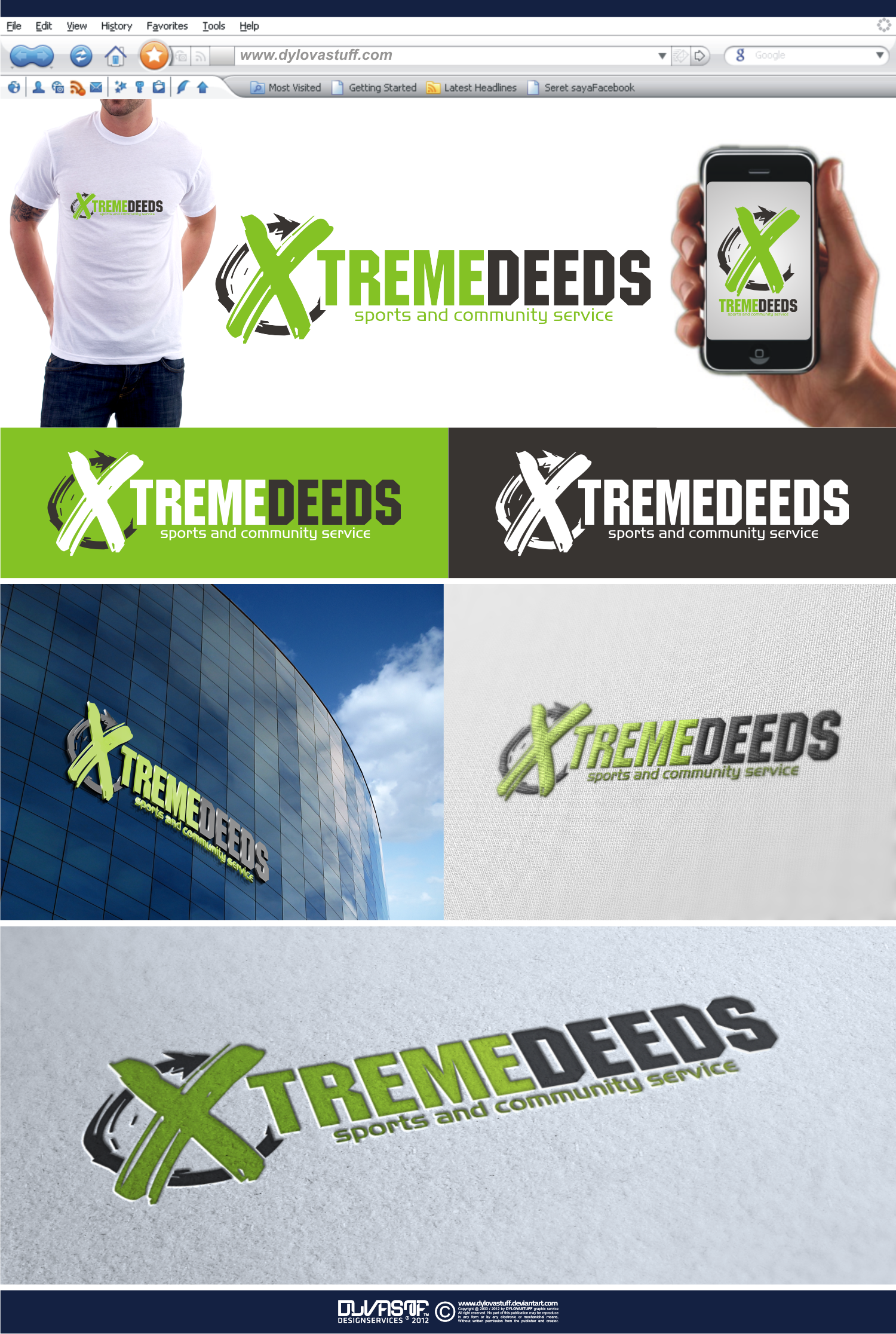 Help X-treme Deeds with a new logo