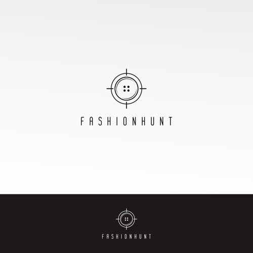 fashionhunt logo design