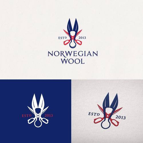 Logo for men's outerwear brand