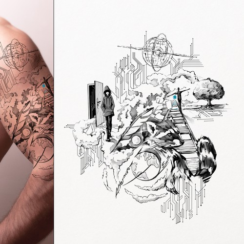 Alternate Reality Tattoo