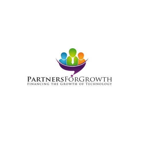 We finance growth - capture growth and dynamism in our new corporate logo