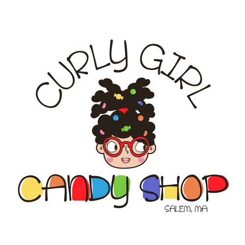 Curly Girl Candy Shop Logo