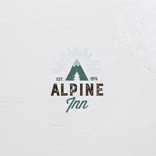 logo for hotel boutique in Alps