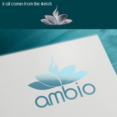 Create a cute, memorable logo for Ambio!