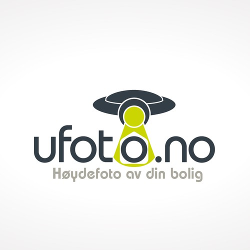 Ufoto.no Logo Design