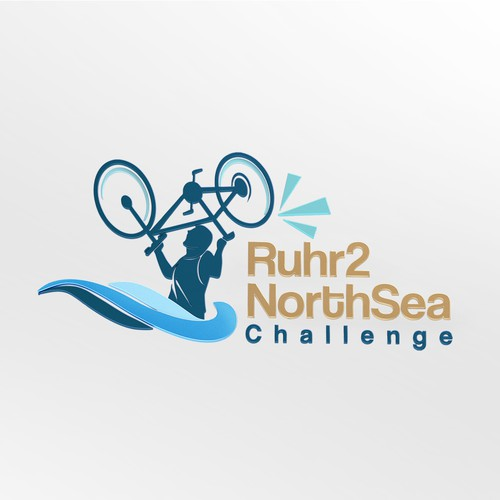 3d Logo for Ruhr2 NorthSea Challenge