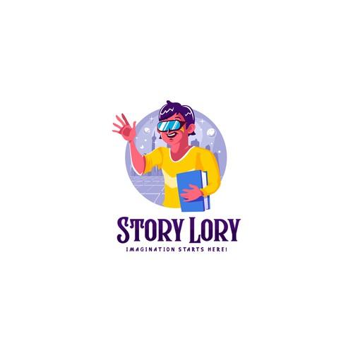 Logo Concept for StoryLory.com