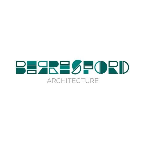 Logo concept for Berresford Architecture