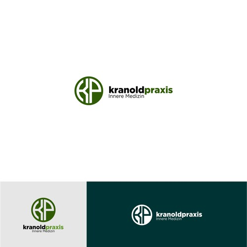 Simple Logo concept for kranoldpraxis